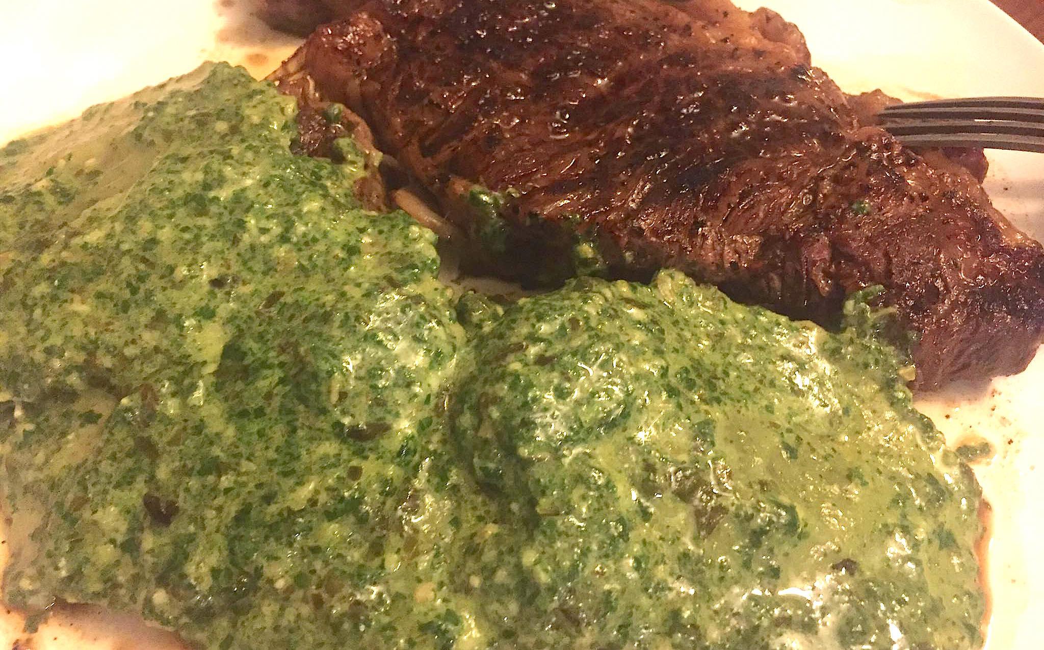 pesto-ravioli-with-rib-eye-steak