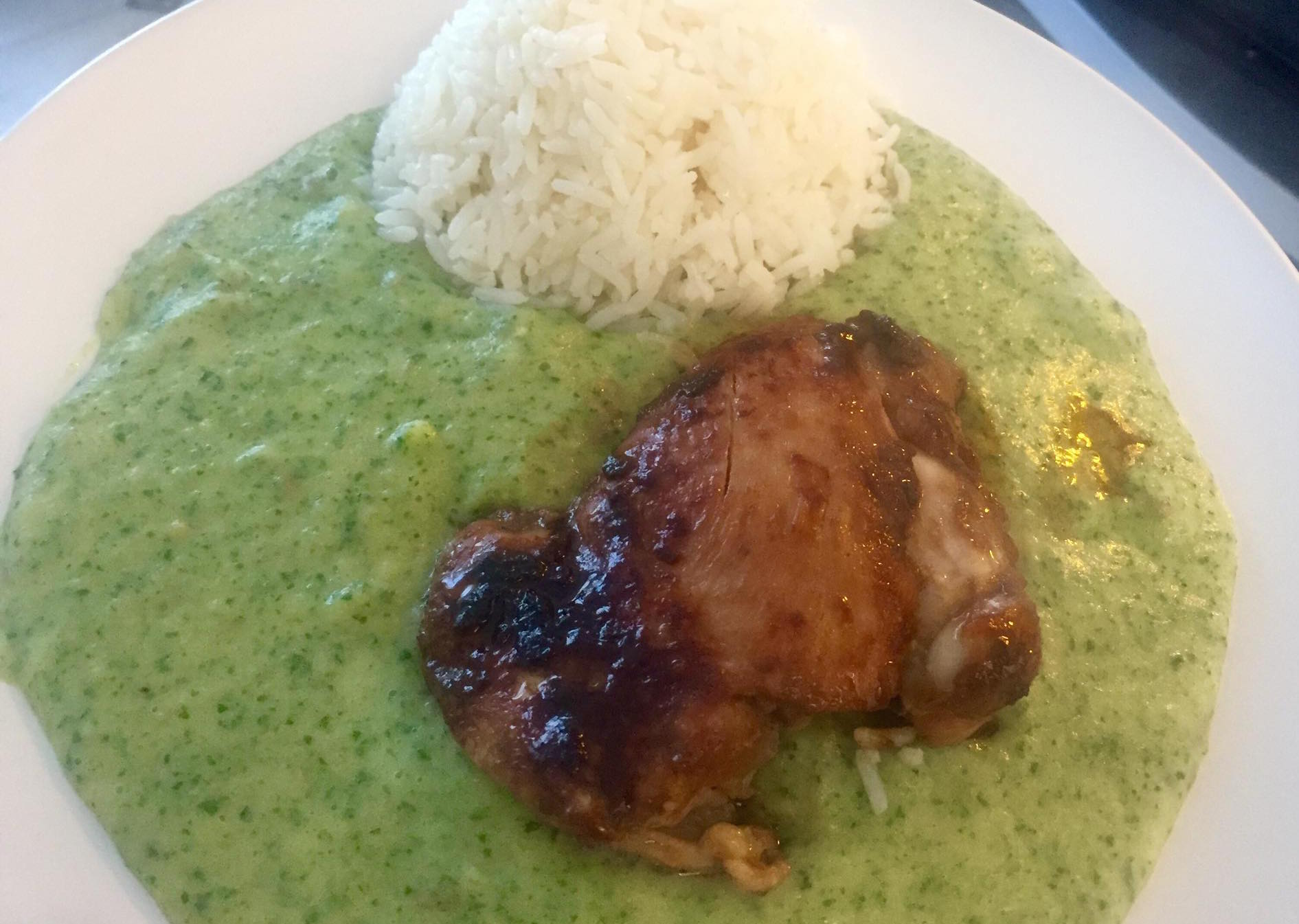 soy-chicken-with-spinach-mashed-potatoes-and-rice